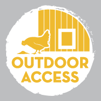 Outdoor Access Label