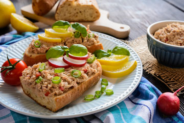 Tuna Spread with Peppers and Onions