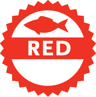 Red rating logo