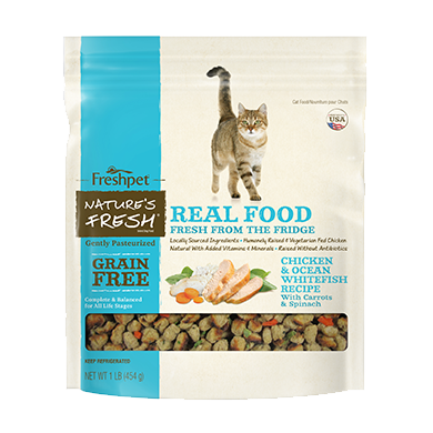 Freshpet refrigerated cat food