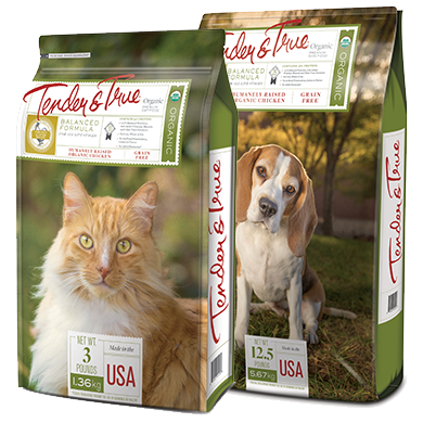 Tender and True brand Organic Pet Food