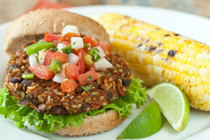 Southwest Veggie Burger