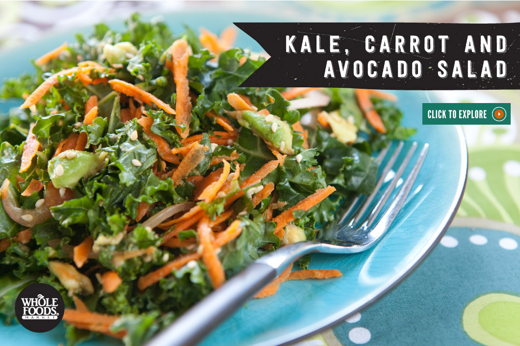 ... salad carrot avocado salad recipe on food52 kale carrot avocado salad