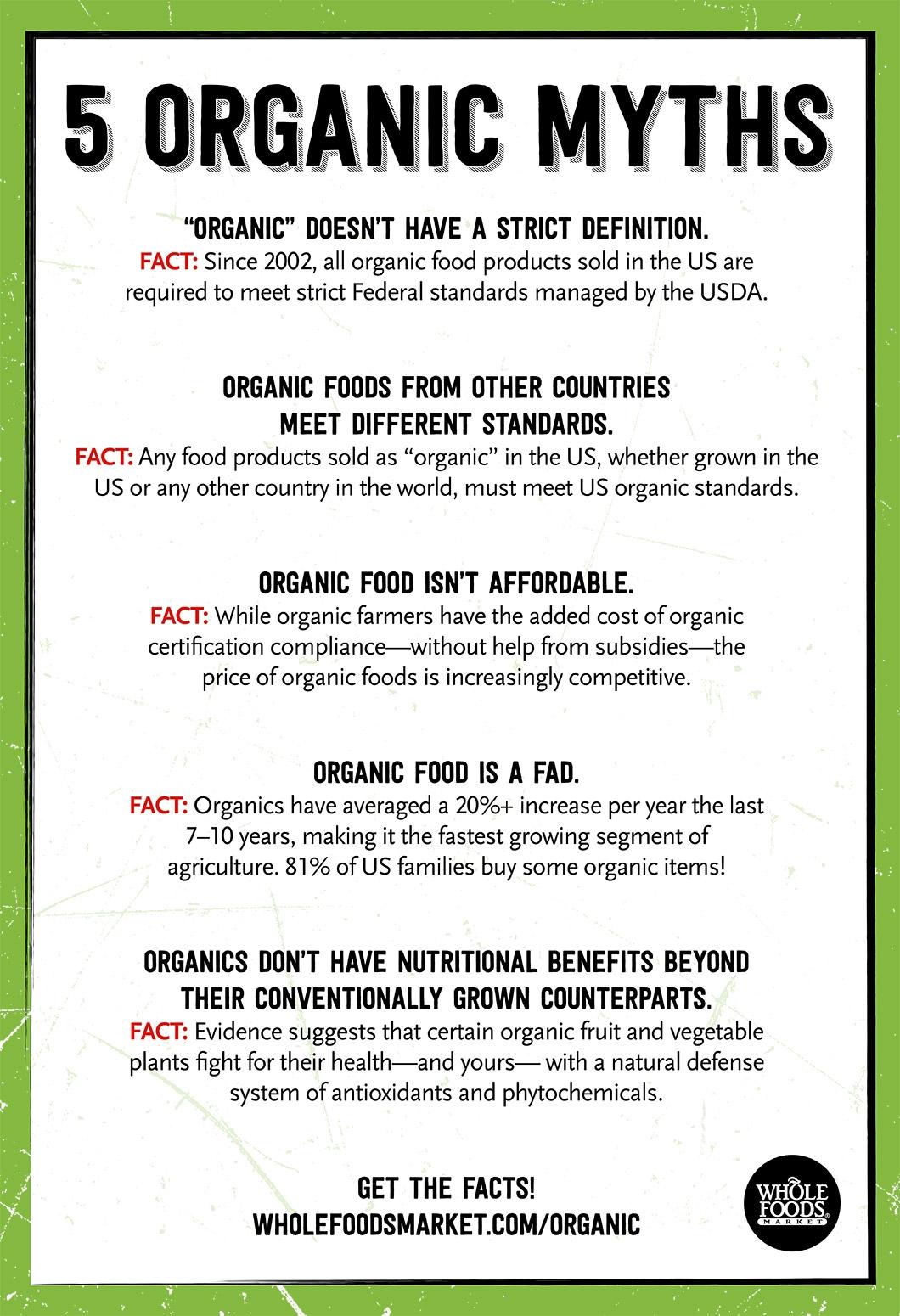 Mythbusters organic food whole foods market 5 organic myths busted xflitez Images