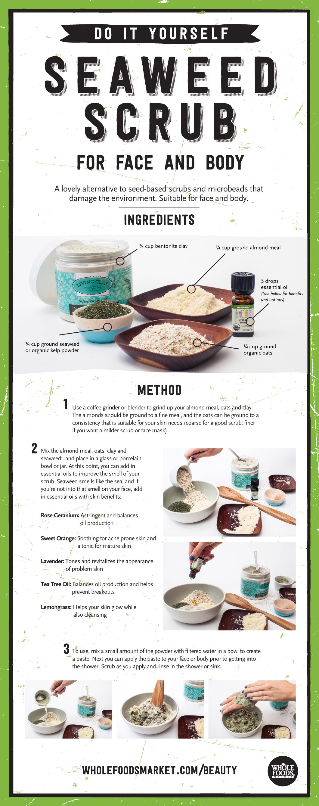 Bathe yourself in seaweed whole foods market diy seaweed scrub for face and body solutioingenieria Images