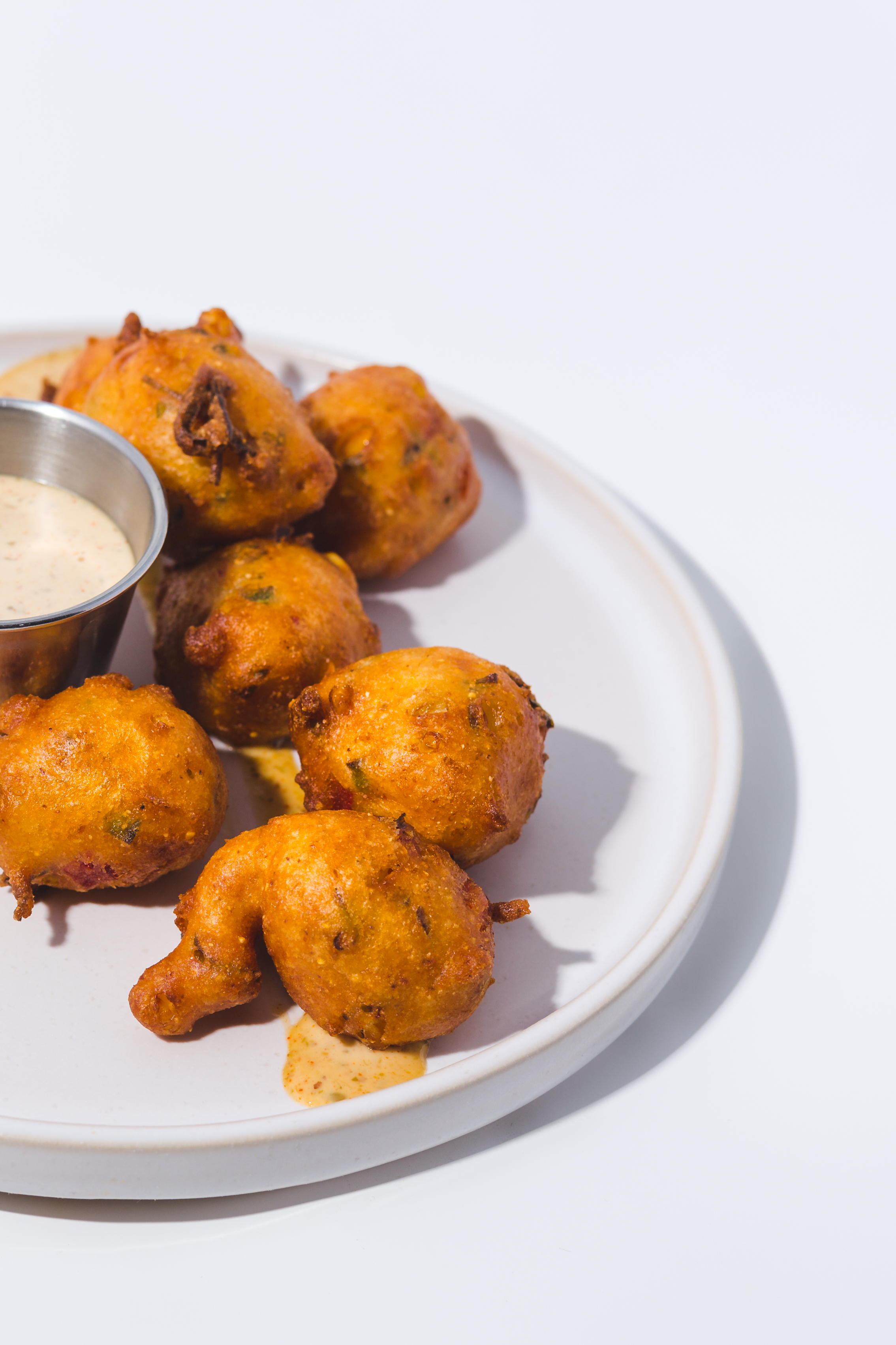 hush puppies on plate