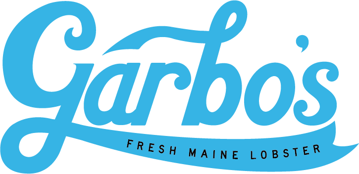 Garbo's Fresh Maine lobster Logo
